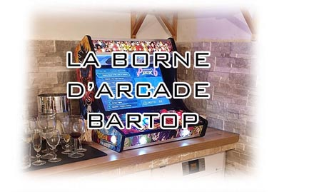 Le Bartop, la borne d'arcade sans le socle