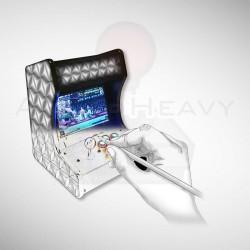 Miniborne arcade personnalisée  Si vous souhaitez une Miniborne personnalisée à votre gout, n'hésitez pas à nous contacter !