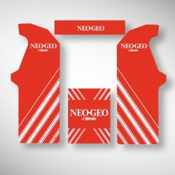 Stickers complets pour borne arcade NEO GEO
