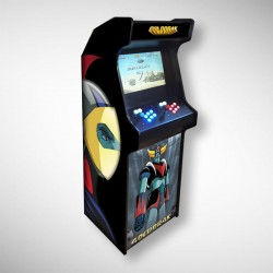 Borne arcade Goldorak Borne d'arcade de la marque Goldorak dessin animé des années 80