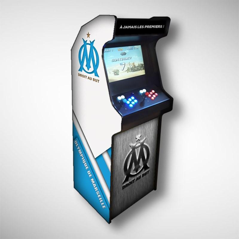 Borne arcade Olympique de Marseille Borne d'arcade de la marque Olympique de Marseille grande équipe de football