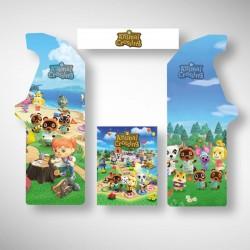 Stickers pour borne arcade Animal Crossing, de quoi décoré une chambre d'enfant, ou encore un bureau enfant