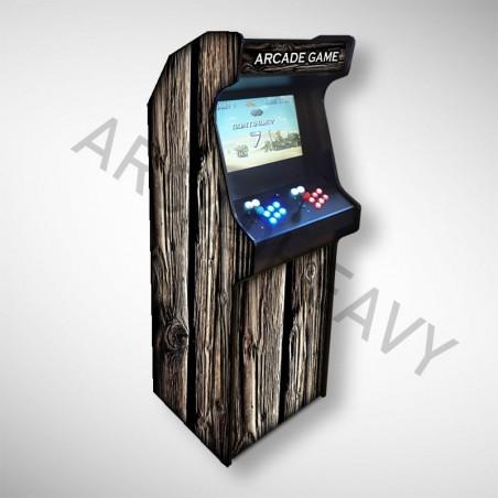 Borne arcade BOIS Borne d'arcade référence BOIS. Avec une texture totalement bois !