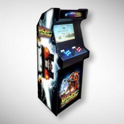 Borne arcade Back to the future Borne d'arcade référence Back to the future arriveront-ils à l'heure ?!