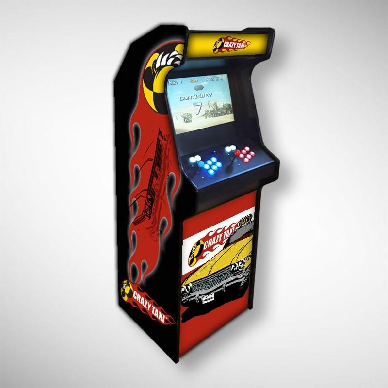 Borne arcade Crazy Taxi Borne d'arcade avec la référence Crazy Taxi le folie des taxis !