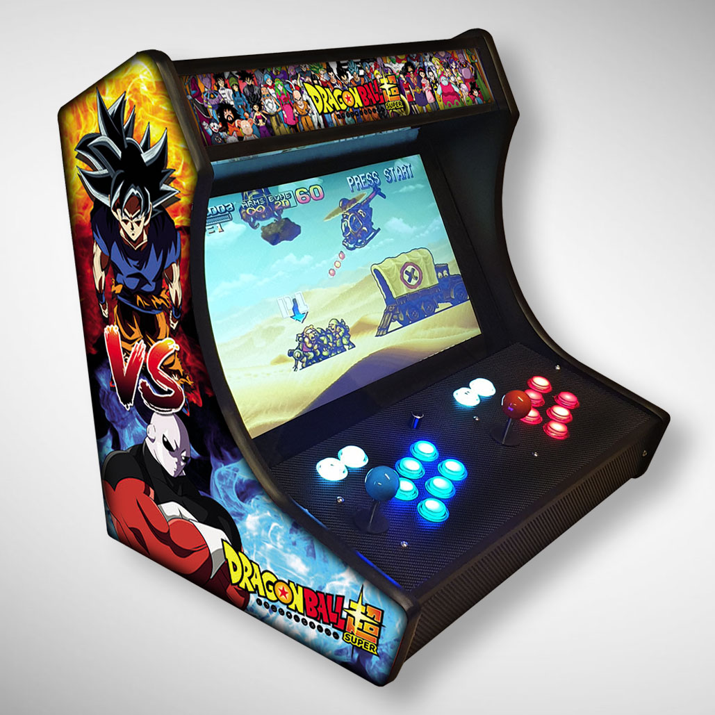 Exemple de Bartop avec le manga Dragon Ball Z et vegeta