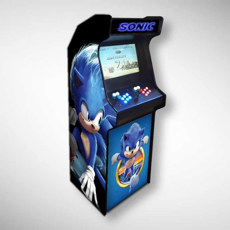 Il est important de bien choisir sa borne d'arcade SONIC, Choisir sa borne d'arcade sur Saint-Etienne ou dans les environs