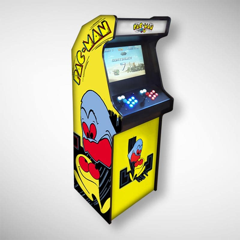 Exemple d'une borne d'arcade personnalisée