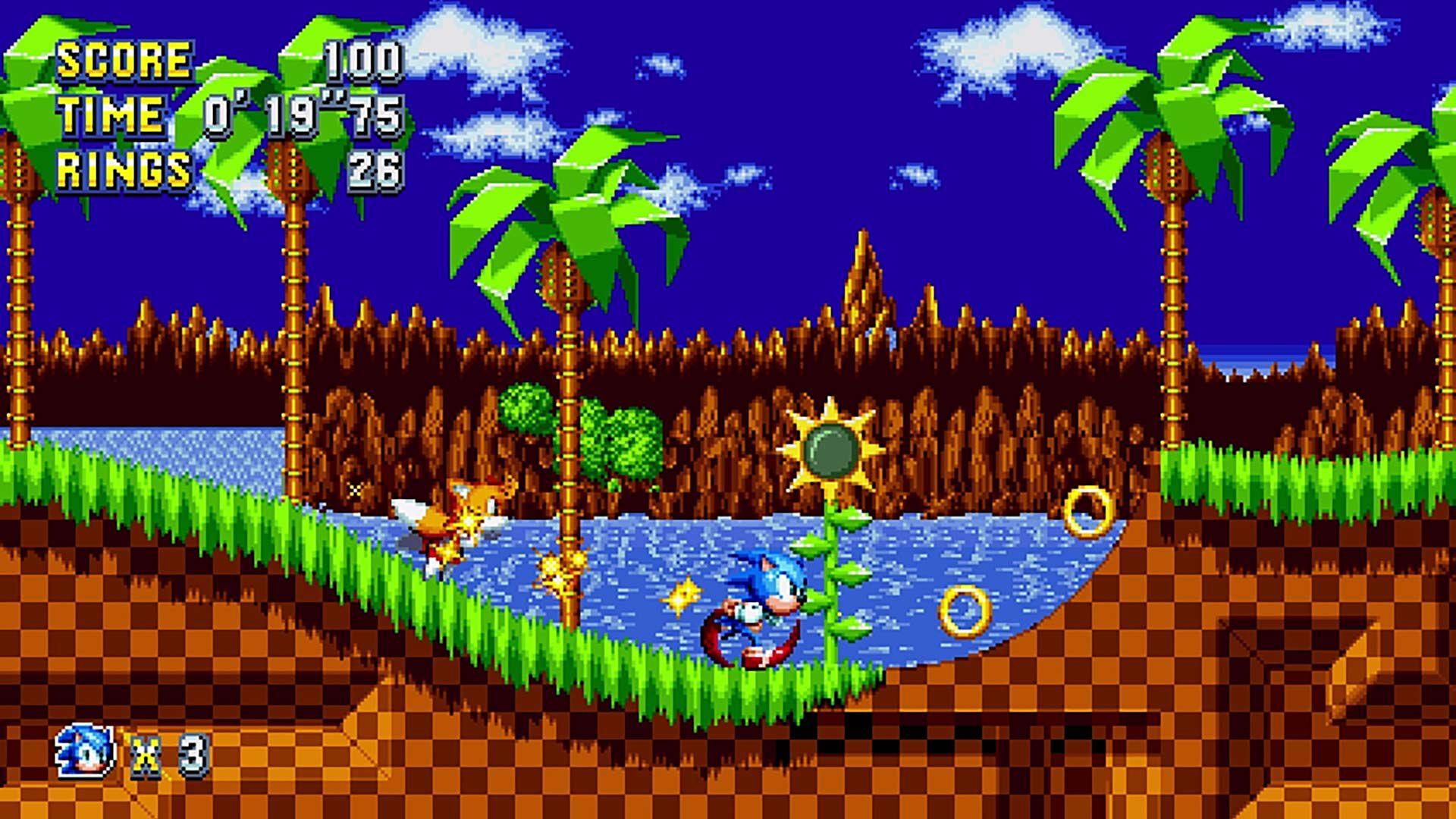 image de jeu de la borne d'arcade SONIC