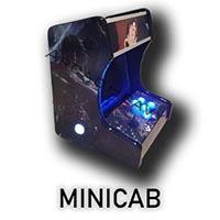exemple de miniborne d'arcade ALBATOR sur Toulouse